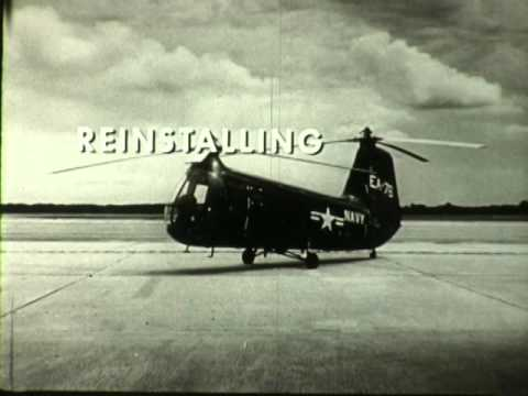 F 2112 US Navy Training Film Maintaining the Piasecki HUP Service Helicopter
