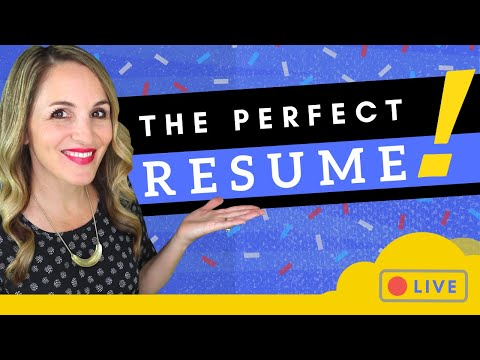 3 SIMPLE Steps To Write A GREAT Resume In 2020 + Resume Reviews