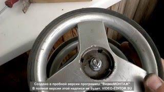 видео Детская коляска – ремонт колес своими руками