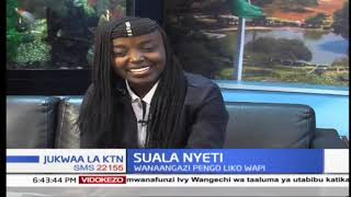 SUALA NYETI: Ajiwa kwa vijana wa Kenya | Jukwaa la KTN