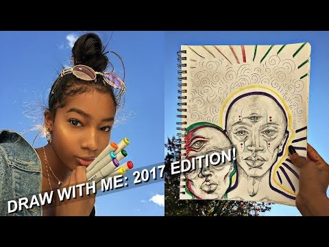 DRAW WITH ME: 2017 Edition! | Eris The Planet