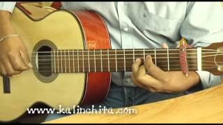 Señora Bonita - Leo Marini - Como tocar en guitarra