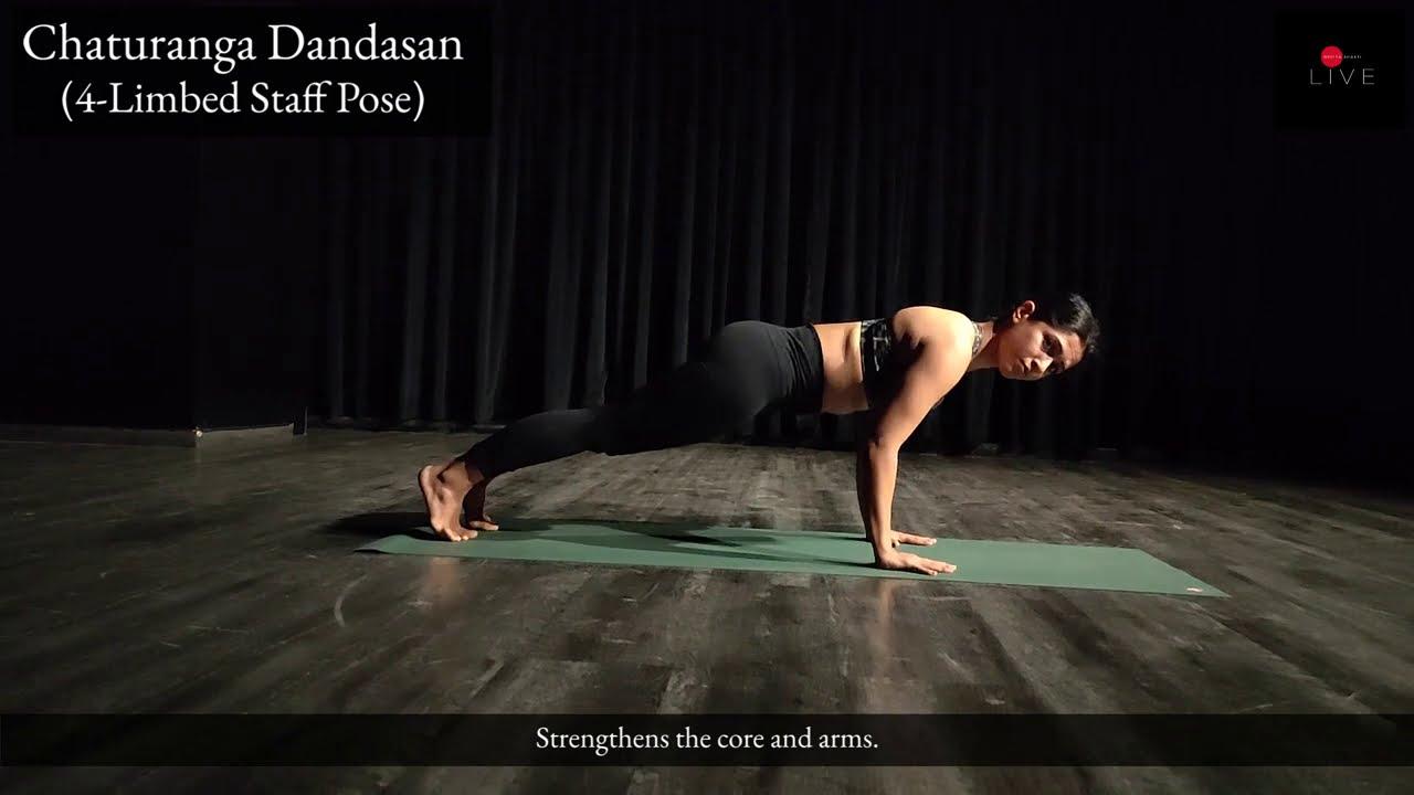 Yoga for the Spine   25 Minutes   Dhanisa Shende   Nritya Shakti