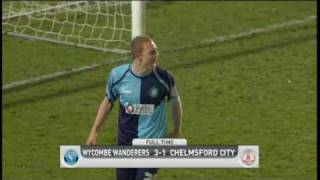 Wycombe 3-1 Chelmsford | The FA Cup 2nd Round - 27/11/10