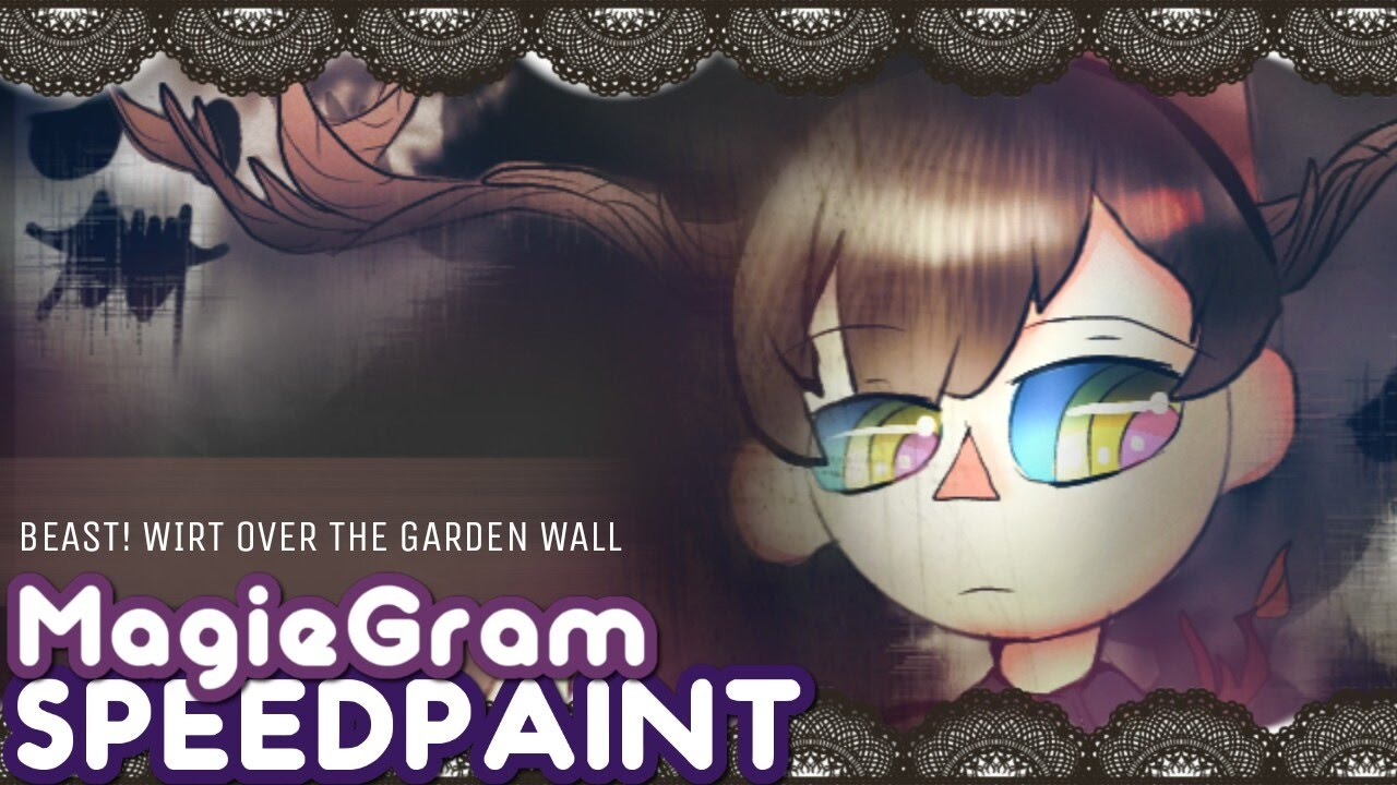 Feed the lantern over the garden wall beast wirt halloween magiegram speedpaint youtube for Over the garden wall watch online