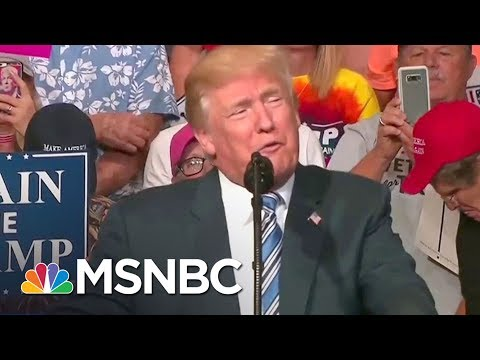 Donald Trump Losing Support Among White Voters | AM Joy | MSNBC