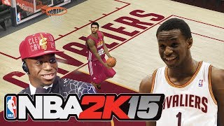 NBA 2K15 ANDREW WIGGINS ROOKIE PREVIEW! Modded NBA 2K14 Gameplay