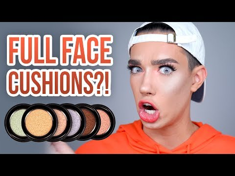 FULL FACE USING ALL CUSHION PRODUCTS? WET N WILD REVIEW!