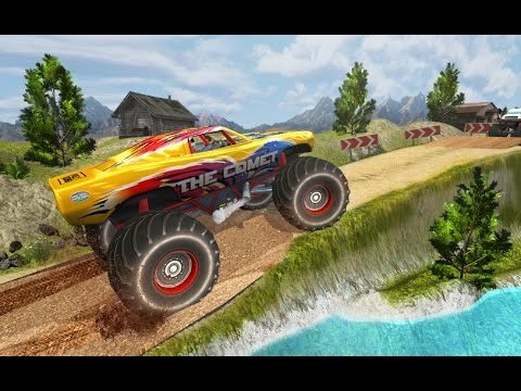 Monster Truck Hill Racing Android Gameplay (HD)