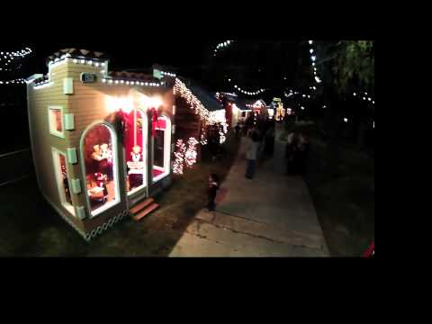 Holiday Village - A Festive Stroll through the Christmas Cottages