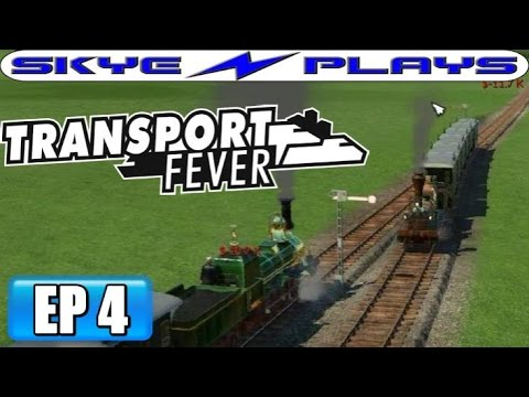 Transport Fever Let's Play / Gameplay Part 4 ►Double Tracks and Signals!◀ (1867)
