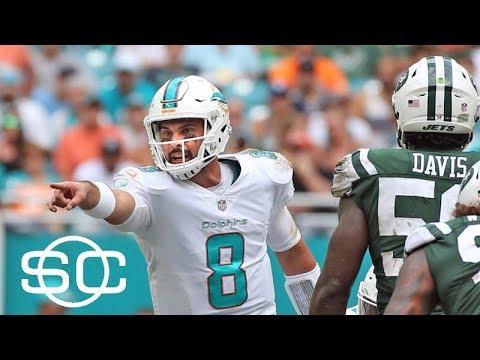 Jeff Saturday impressed with Matt Moore, Miami Dolphins | SportsCenter | ESPN