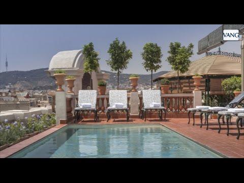 Jardín aéreo del hotel Palace en Barcelona