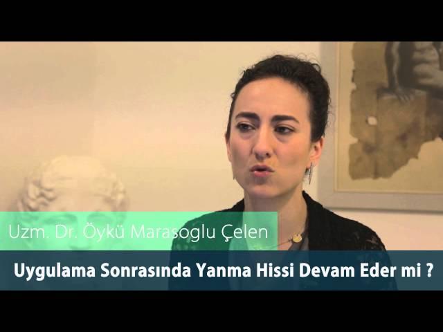Dr.Öykü Maraşoğlu Çelen - Co2 Fraksel Lazer Sonrası Yanma Hissi Devam Eder mi ?