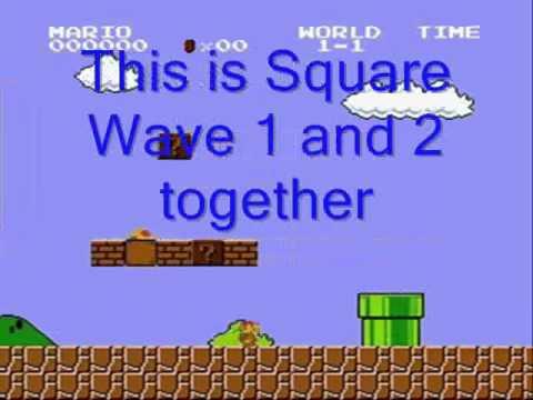 Super Mario Bros audio channel analysis