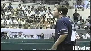 China Open 2001: Ma Lin-Jan Ove Waldner