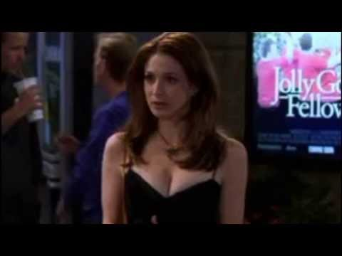 Two and a Half Men Judith Harper (Marin Hinkle) Huge cleavage