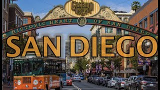 San Diego California Travel Tour 4K HD