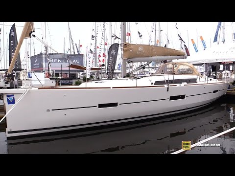 2017 Dufour 460 Grand Large Sailing Yacht - Deck Interior Walkaround - 2016 Annapolis Sailboat Sho