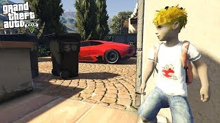 STEALING BACK MY LAMBORGHINI REVETON FROM MY PARENTS AT AGE 10!!! (GTA 5 REAL LIFE PC MOD)
