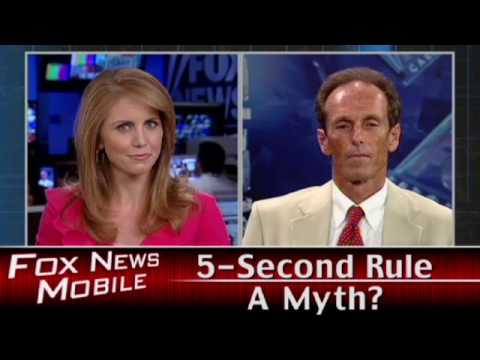 Five Second Rule a Myth