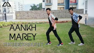 Aankh Marey Dance Choreography By Vinay Sankhe & Shubham Sapkale | Dancing Brothers