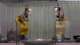 ロボットが作るラーメン屋「ふぁーめん」その4
