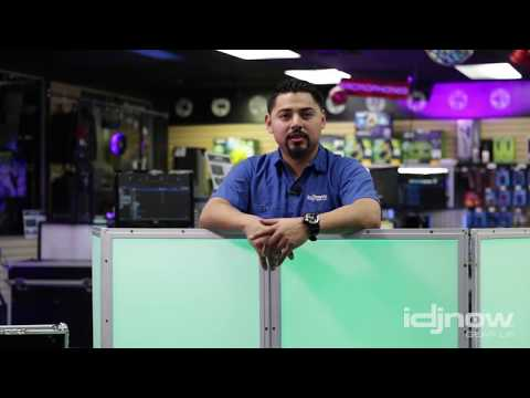 ProX GloPro 4 Panel LED Facade Demo With Geo From I DJ NOW
