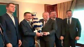 Жириновский в гостях у Эрдогана в Турции