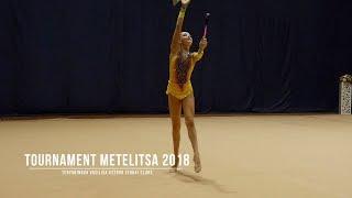 Терянинова Василиса Кстово (2004) Булавы Rhythmic Gymnastics Tournament Metelitsa 2018