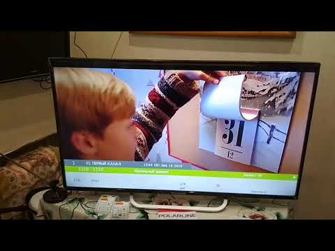Обзор телевизора POLARLINE 40PL51TC класс!!!!!