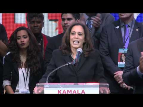 Kamala Harris Speaks on Election Night