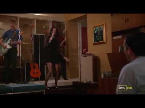Zou Bisou Bisou  Gillian Hills Jessica Paré - Mad Men Season 5 HD