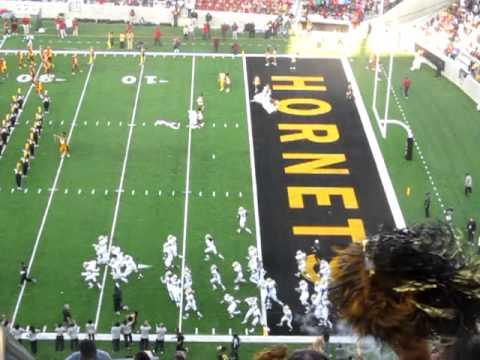 Alabama State University stadium opening ceremony Pt 2 F/ Eric Benet