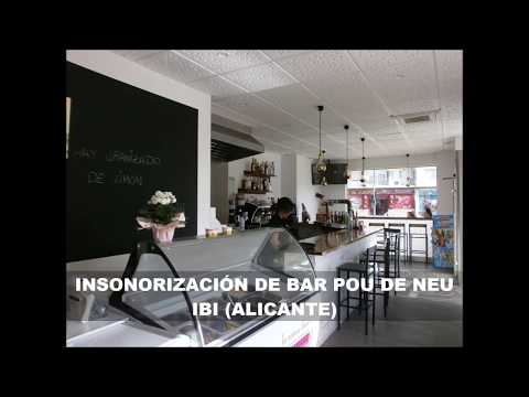 Insonorizar un local para abrir un bar en Ibi Alicante