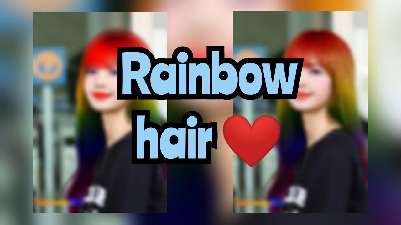 Lisa rainbow hair #2
