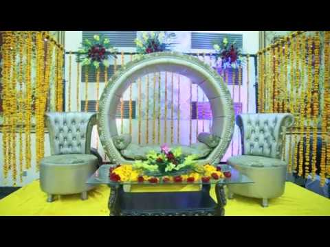 Pakistani Simple Mehndi Stage Decoration At Home 2018 Youtube