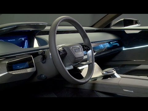 Audi Prologue Avant - Interior (Geneva Motor Show 2015)