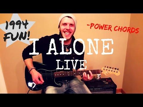 Live - I Alone (Beginner/Intermediate) Guitar Lesson