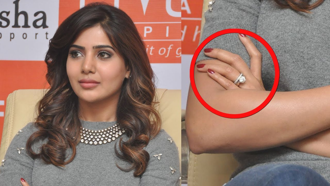 actress samantha's engagement : shocking news - youtube