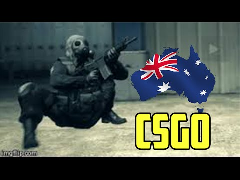 Australian CSGO - The Legend Of The Black Blues Player.