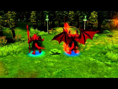 Heroes of Newerth - El Diablo (With Effects)
