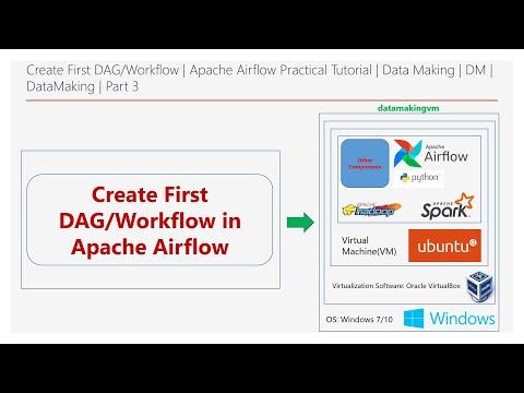 Create First DAG/Workflow   Apache Airflow Practical Tutorial  Part 3 Data Making  DM   DataMaking