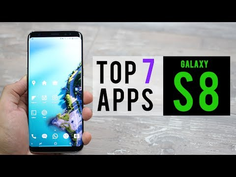 Top 7 Best Apps for Samsung Galaxy S8 (S8+)
