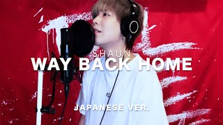 Download Way Back Home (웨이백홈) / SHAUN Japanese Lyric ver. ( cover by SG )