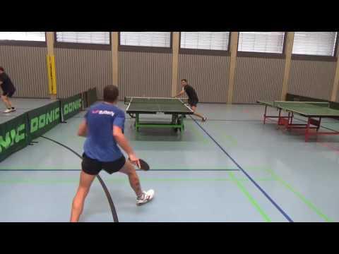 Andre Scheer Noppen Defense SB Versbach Tischtennis Commerzbank Zell  20160724 5