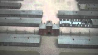 Niederhagen concentration camp :  aerial view