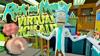 I AM THE ONE TRUE MORTY! - Rick and Morty Virtual Rick-ality VR Gameplay