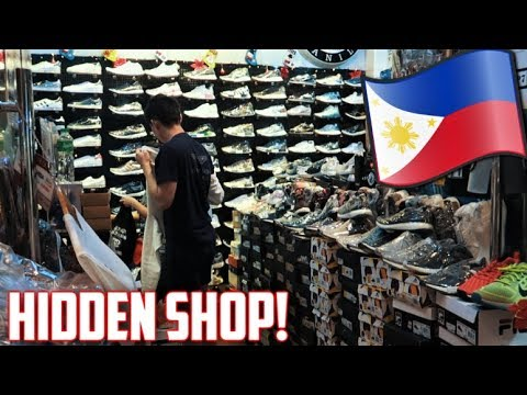 REAL SNEAKERS at GREENHILLS? Secret store in MANILA! (Philippines VLOG)