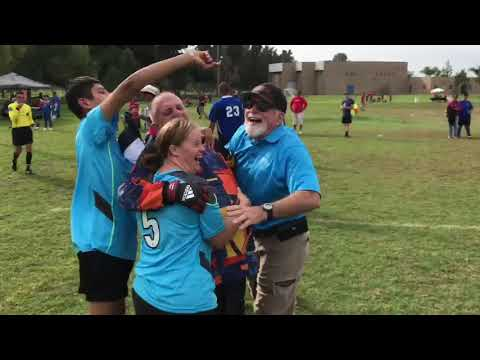 2017 Fall Games Special Olympics SB Soccer   Chris Powers Kicks Game Winning Goal